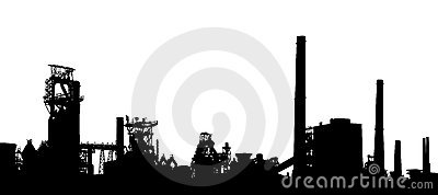 Industrial foreground