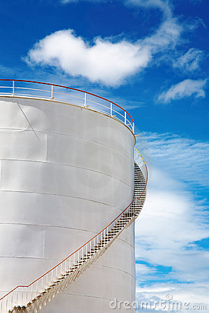 Industrial fuel tank