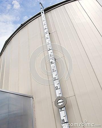 Industrial fuel tank gauge