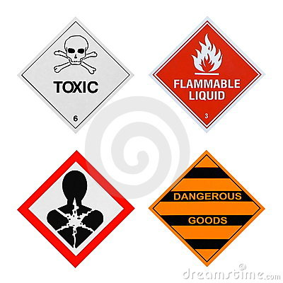 Industrial Hazards Signs