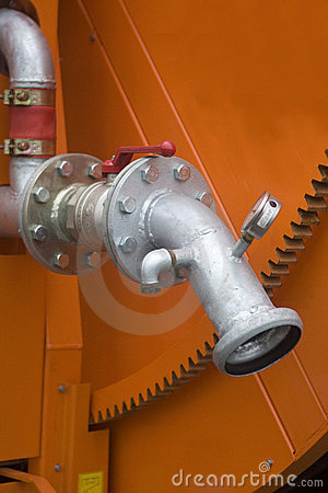 Industrial irrigation machine