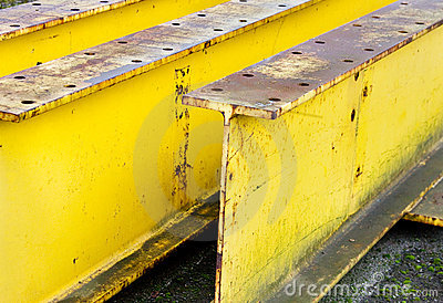 Industrial Large Yellow  Beams