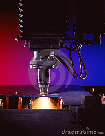 Free Industrial Laser Cutter Stock Images - 16278464