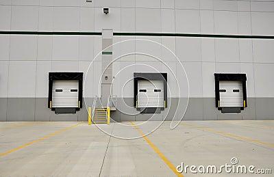 Industrial loading docks