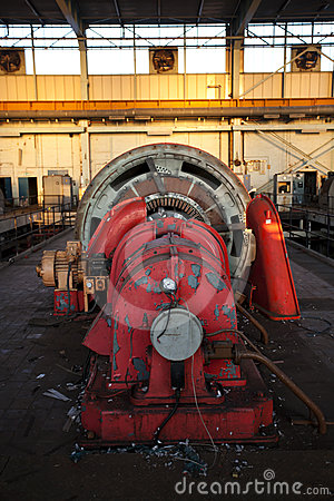 Industrial Machine Royalty Free Stock Image - Image: 24330876