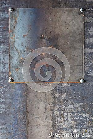 Industrial metal background