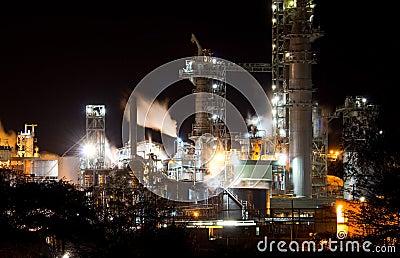 Industrial night