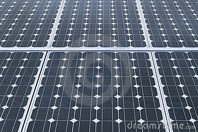 Industrial Photovoltaic Solar Panels Royalty Free Stock Photos - Image: 16324228