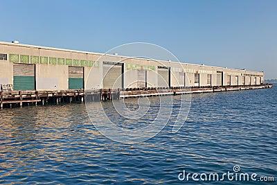 Industrial pier