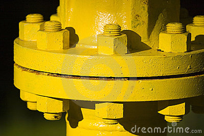 Industrial pipe joint