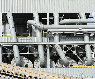 Industrial pipes and ducts