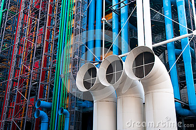 Industrial pipes Editorial Stock Photo