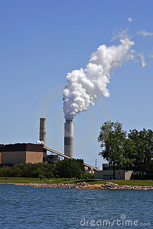 Free Industrial Plant Pollution Stock Photos - 2836793