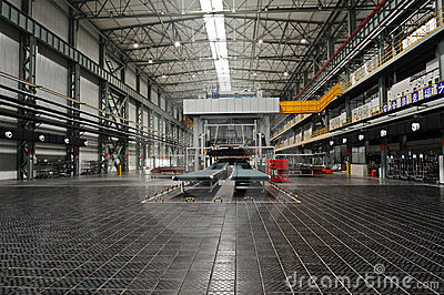 Industrial plants Editorial Stock Photo