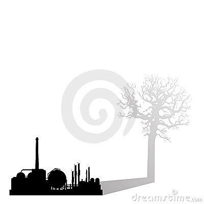 Industrial pollution killing earth