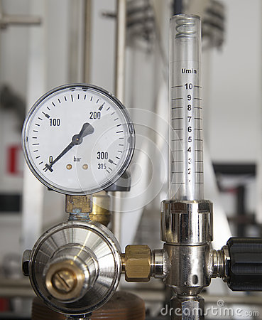 Industrial pressure manometer