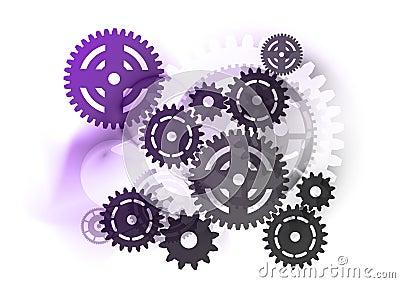 Industrial purple