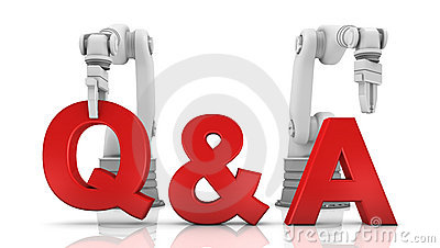 Industrial robotic arms building Q&A word