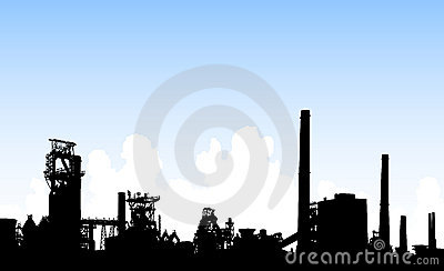 Industrial skyline