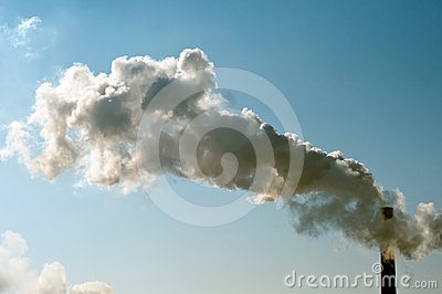 Industrial smoke pipe