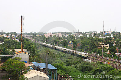 Industrial Suburb of Chennai, Indian City