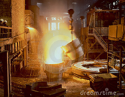Industrielle Metallurgie