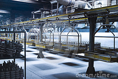 Industrielles Fließband