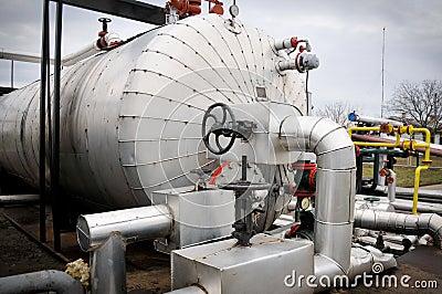 Industrien des Ölraffinierens und des Gases,