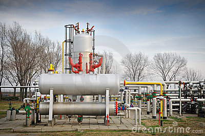 Industries of oil refining and gas,