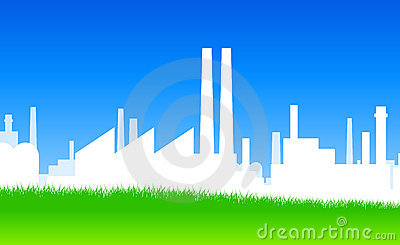 Industrisilhouette