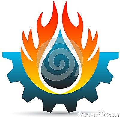 Industry logo Vector Illustration