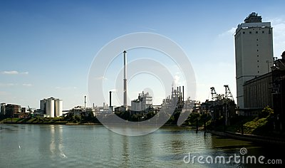 Industry by the River