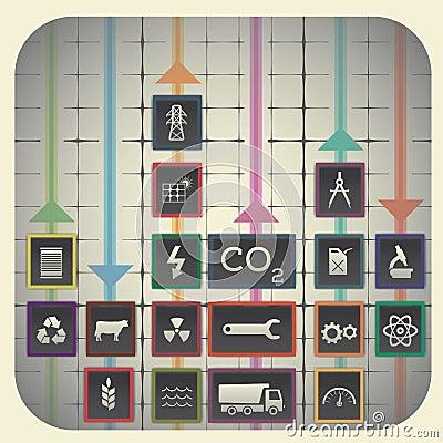 Free Industry Symbols Stock Photography - 34331152