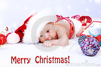 Infant and Christmas decoration
