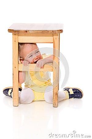 Infant hiding