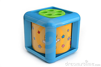 Infant musical cube