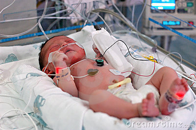 Infant in NICU