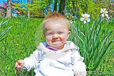 Infant Spring Portrait