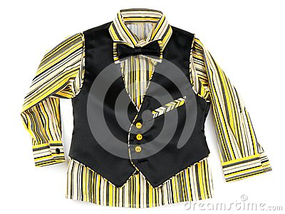 Infant striped shirt