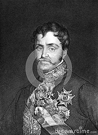 Infante Carlos, Count of Molina Editorial Photo