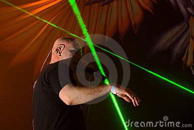 Infected Mushroom in Concert Editorial Stock Image