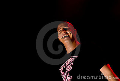 Infected Mushroom in Concert Editorial Stock Photo