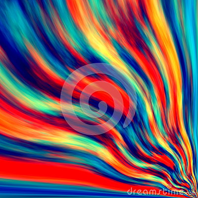 Free Infinite Background Design. Fan Tail. Blue Orange Red Color Blend. Wind Shape. Crease Form. Wavy Messy Plasma. Cyber Frame. Light. Stock Photography - 58931012