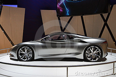 Infiniti Emerg-E Concept - Geneva Motor Show 2012 Editorial Photo
