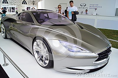 Infiniti Emerg-E hybrid supercar Editorial Image