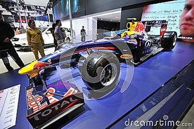 Infiniti f1 racing car Editorial Photo