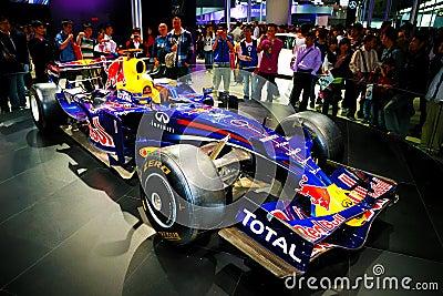 Infiniti F1 racing car Editorial Stock Photo