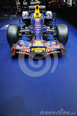 Infiniti f1 racing car Editorial Photo
