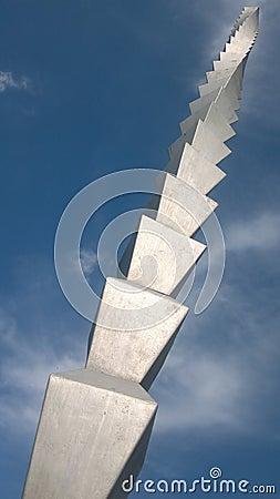 Free Infinity Column - Constantin Brancusi Masterpiece Stock Images - 27678834