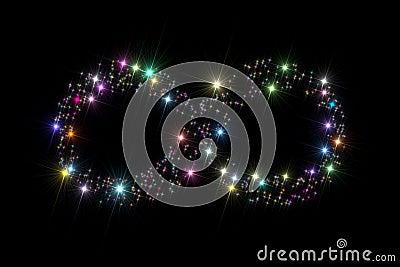 Infinity symbol stars
